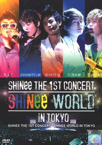 SHINee - The 1st Concert in Tokyo - Shinee World (2DVD)