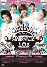 SMTown Live in Paris (2DVD)