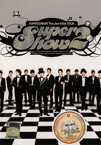Super Junior - The 2nd Asia Tour: Super Show 2 (3DVD + CD Set)