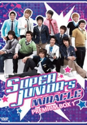 Super Junior : Miracle's Premium Box 1  (4DVD)