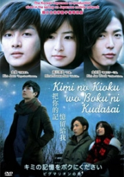Kimi No Kioku Wo Boku Ni Kudasai (All Region DVD)(Japanse Movie)