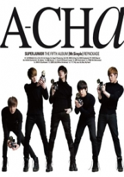 Super Junior - A-Cha - The Fifth Album [Mr.Simple] Repackage (CD)