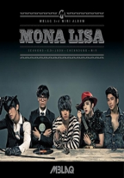 MBLAQ 3rd Mini Album - Mona Lisa (Korean Music)
