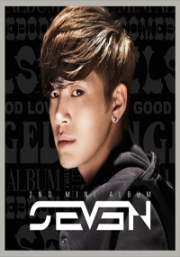 SEVEN - 2ND MINI ALBUM (Korean Music CD)