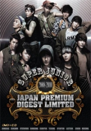 Super Junior 2008-2010 Japan Premium Digest Limited (CD+4DVD)