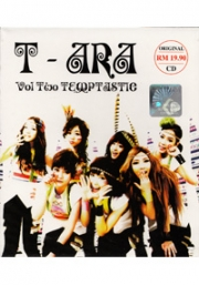 T-ARA - Vol 2 Temptastic (Korean Music CD)