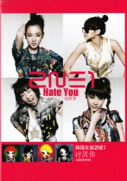 2NE1 - Hate You (All Region DVD) (Korean Music)