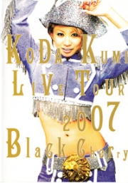 Koda Kumi - Live Tour 2007 Black Cherry (All Region)(2DVD)(Japanese Music)