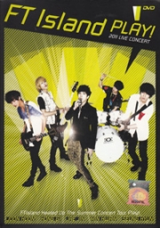 FT Island - Play 2011 Live Concert (All Region) (2 DVD) (Korean Music)