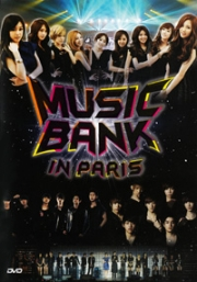 Music Bank In Paris (All Region)(2 DVD)(Korean Music)