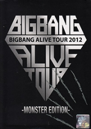 BIG BANG ALIVE TOUR 2012 Monster Edition (All Region DVD)(Korean Music)(2DVD)