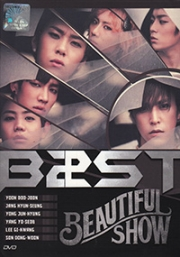 Beast - Beautiful Show (All Regiond DVD) (Korean Music)