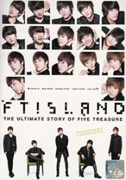 FT ISLAND - The Ultimate Story Of Five Treasures (All Region DVD) (Korean Music) (3DVD)