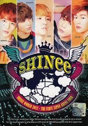 SHINee World 2012 - The First Japan Arena Tour (All Region DVD)(Korean Music)