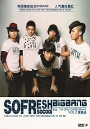 Big Bang - So Fresh So Cool Vol 2 (Korean Music DVD)