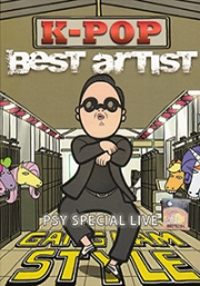 K-Pop Best Artist - PSY Special Live (2DVD)(All Region)(Korean Music)