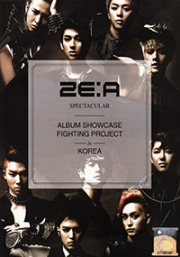 ZE:A Spectacular - Album Showcase Fighting Project in Korea (3DVD)(All Region)(Korean Music)