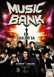 Music Bank in Jakarta (2DVD)(All Region)(Korean Music)