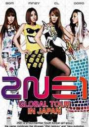 2NE1 Global Tour Japan (All Region DVD)