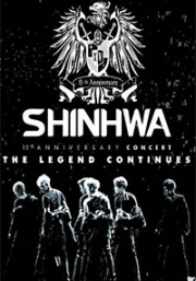 SHINHWA - 15th Anniversary Concert THE LEGEND CONTINUES (3DVD)