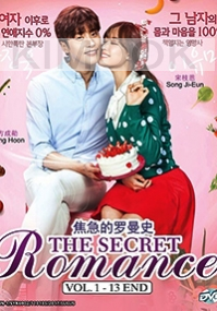 The Secret Romance (3-DVD Set, Korean TV Serires)